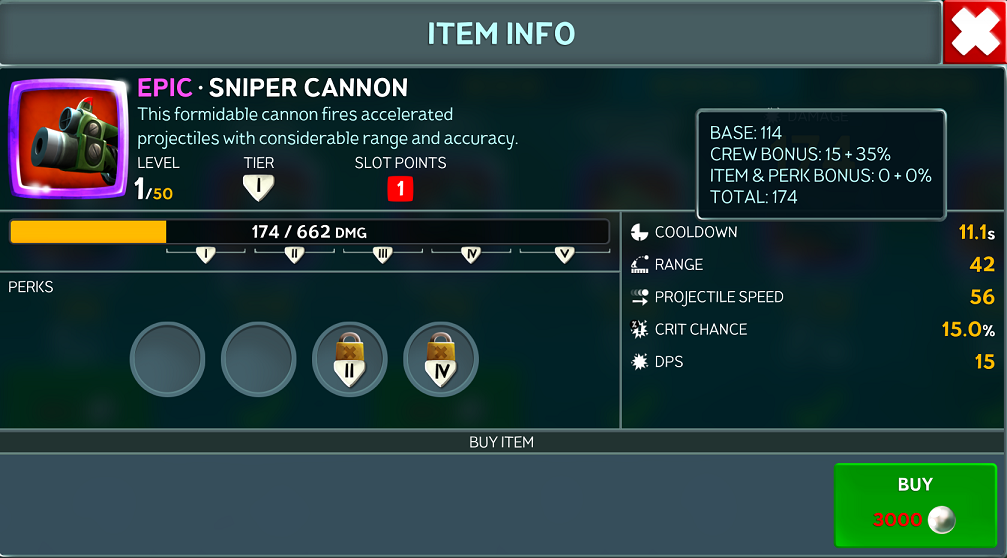 Blast cannon is sure a better weapon over sniper cannon