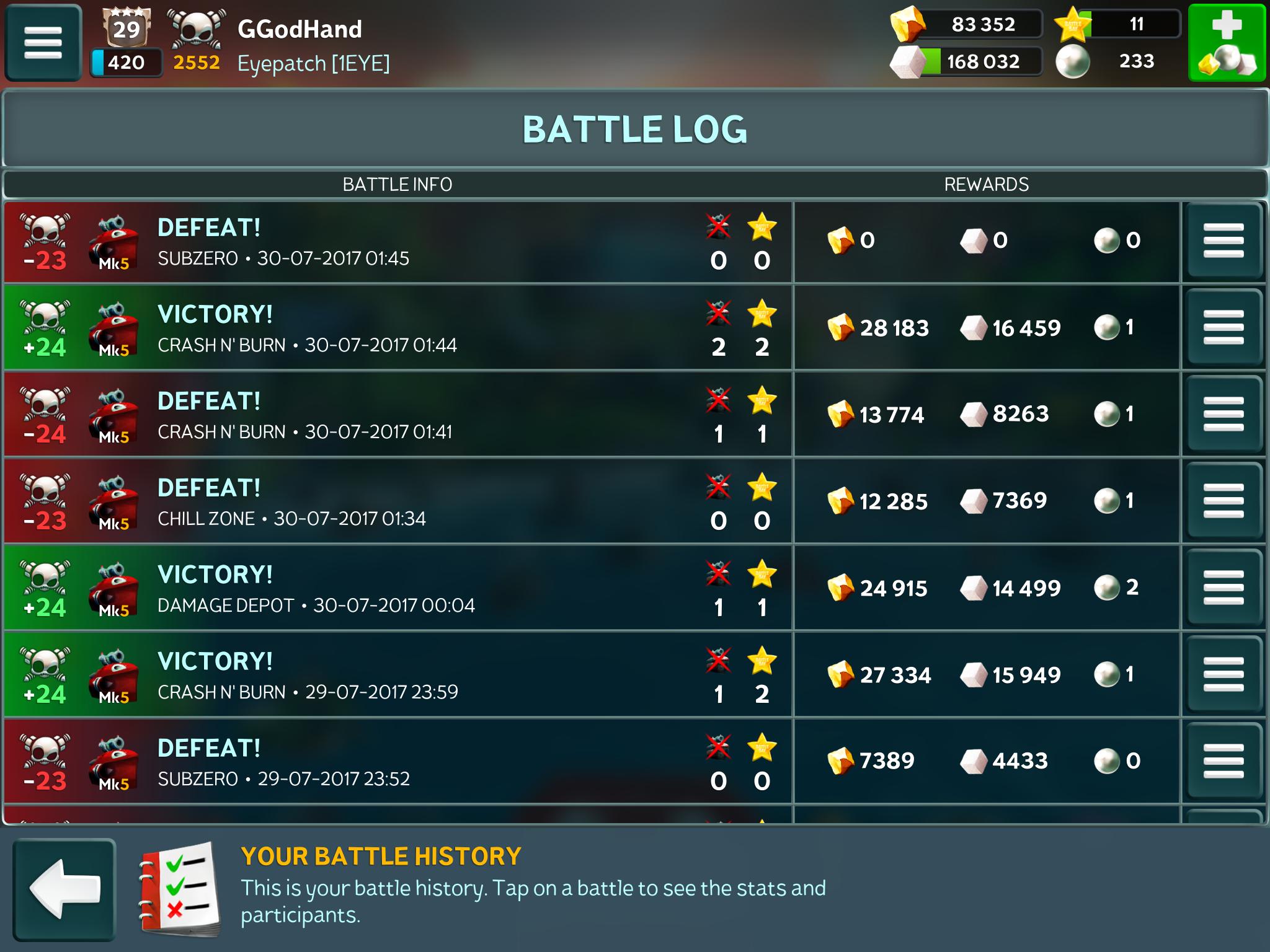 Loadout matchmaking bug