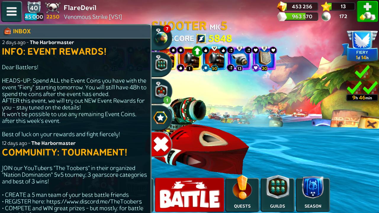 New event rewards speculation  | Battle Bay Forum